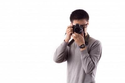 shooting camera professional cameraman smile 1127 2706